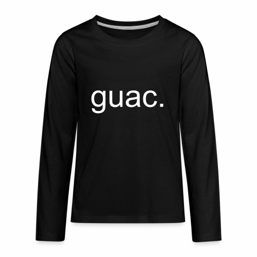 guac. - Kids' Premium Long Sleeve T-Shirt
