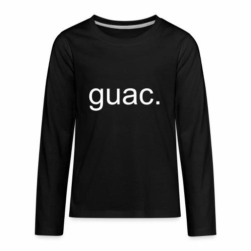 guac. - Kids' Premium Long Sleeve T-Shirt