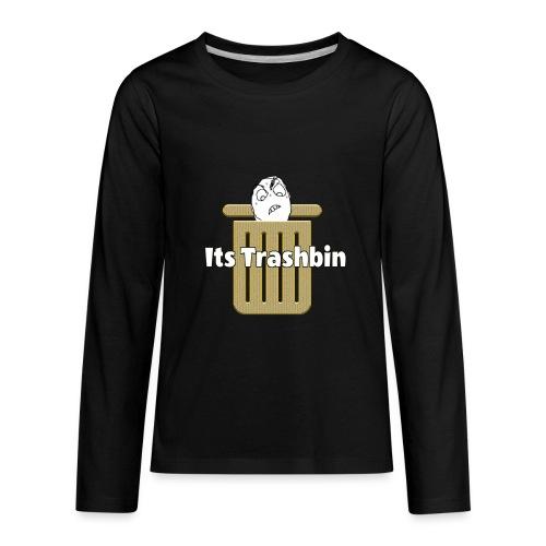 It's Trashbin - Kids' Premium Long Sleeve T-Shirt