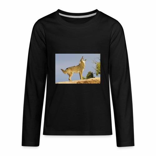coyote - Kids' Premium Long Sleeve T-Shirt