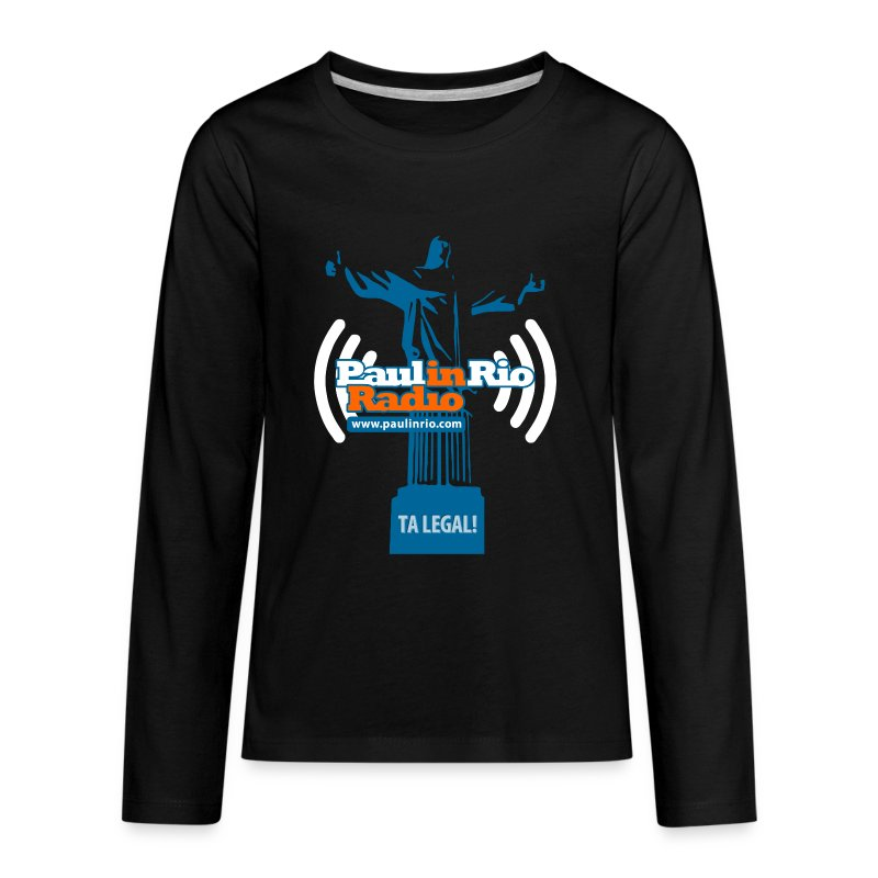 Paul in Rio Radio - The Thumbs up Corcovado #2 - Kids' Premium Long Sleeve T-Shirt