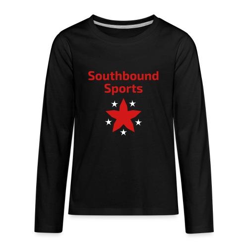 Southbound Sports Stars Logo - Kids' Premium Long Sleeve T-Shirt