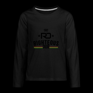Righteous Dub Logo - Kids' Premium Long Sleeve T-Shirt