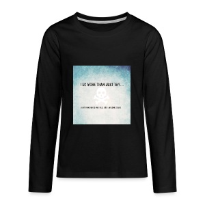I do more than try - Kids' Premium Long Sleeve T-Shirt