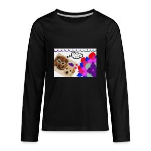 Im Cute Merchandise - Kids' Premium Long Sleeve T-Shirt