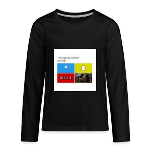 First shirt - Kids' Premium Long Sleeve T-Shirt