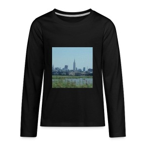 New York - Kids' Premium Long Sleeve T-Shirt