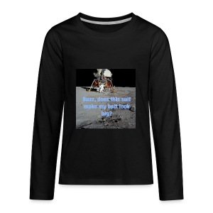 Does this Spacesuit make my butt look big? - Kids' Premium Long Sleeve T-Shirt