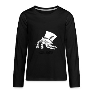 SocialHermit - Kids' Premium Long Sleeve T-Shirt