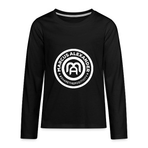 Marcus Alexander Official Logo - Kids' Premium Long Sleeve T-Shirt