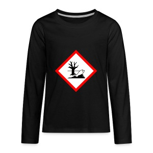danger for the environment - Kids' Premium Long Sleeve T-Shirt