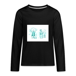 TEST DESIGN - Kids' Premium Long Sleeve T-Shirt