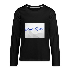 Blue Eye10 - Kids' Premium Long Sleeve T-Shirt