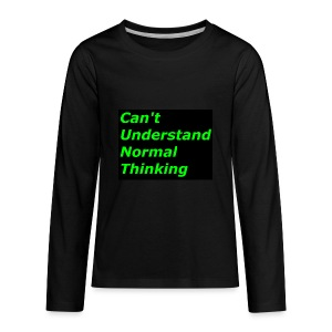 what C*** stands for - Kids' Premium Long Sleeve T-Shirt