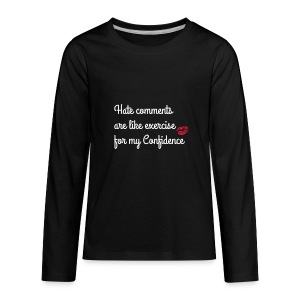 confidence - Kids' Premium Long Sleeve T-Shirt