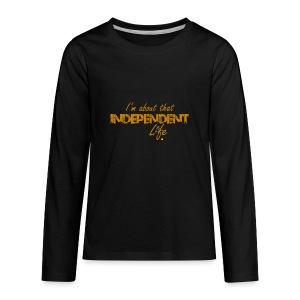 The Independent Life Gear - Kids' Premium Long Sleeve T-Shirt