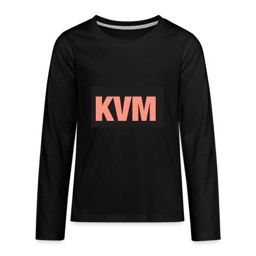 Kas vlogs m - Kids' Premium Long Sleeve T-Shirt
