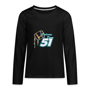 Dalaney Dunn Racing Logo - Kids' Premium Long Sleeve T-Shirt