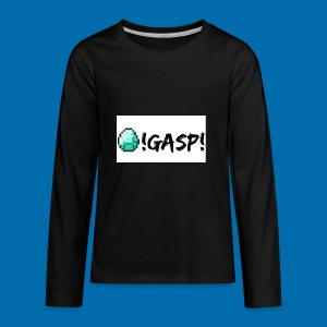 Diamond Gasp! - Kids' Premium Long Sleeve T-Shirt