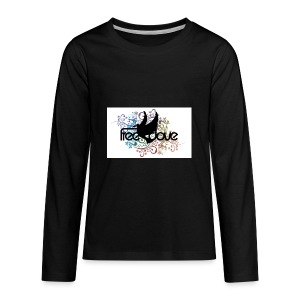 Freedove Gear and Accessories - Kids' Premium Long Sleeve T-Shirt