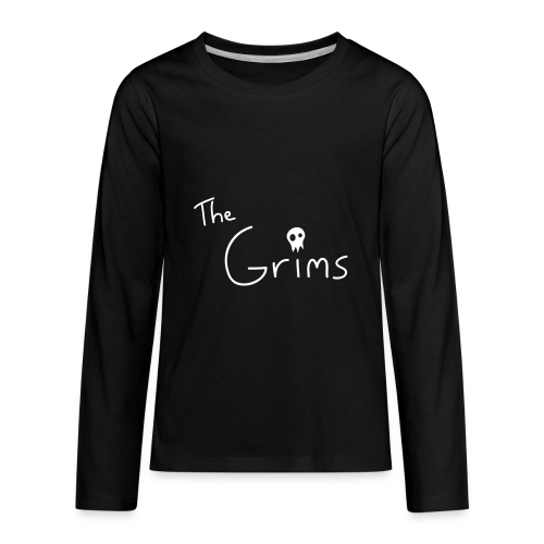 The Grims Logo - Kids' Premium Long Sleeve T-Shirt