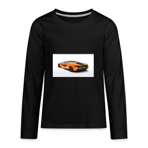 ChillBrosGaming Chill Like This Car - Kids' Premium Long Sleeve T-Shirt