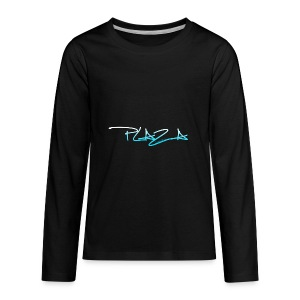 Main business color - Kids' Premium Long Sleeve T-Shirt