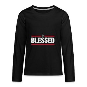 Blessed Tee - Kids' Premium Long Sleeve T-Shirt