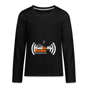 Paul in Rio Radio - Thumbs-up Corcovado #1 - Kids' Premium Long Sleeve T-Shirt
