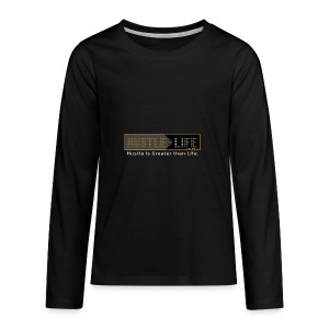 Hustle_Life - Kids' Premium Long Sleeve T-Shirt