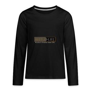 Hustle_Life - Kids' Premium Long Sleeve T-Shirt
