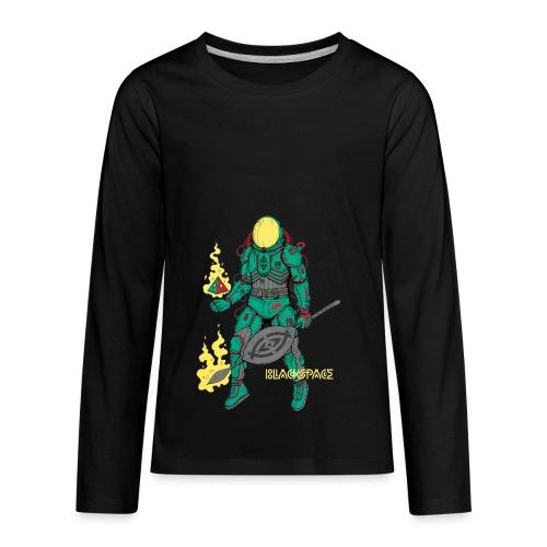 Afronaut - Kids' Premium Long Sleeve T-Shirt