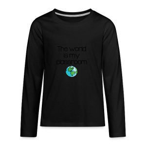 World Classroom - Kids' Premium Long Sleeve T-Shirt