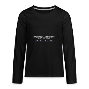agla_t_shirt_bw - Kids' Premium Long Sleeve T-Shirt