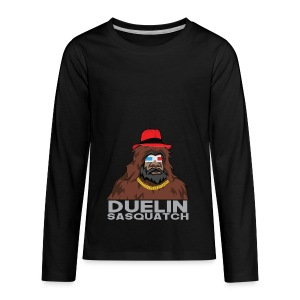 Duelin Sasquatch - Kids' Premium Long Sleeve T-Shirt