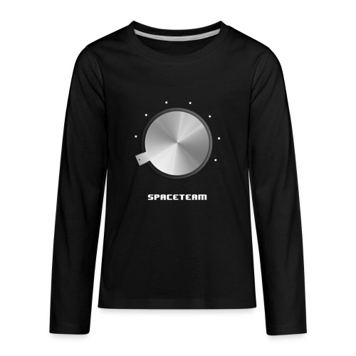 Spaceteam Dial - Kids' Premium Long Sleeve T-Shirt
