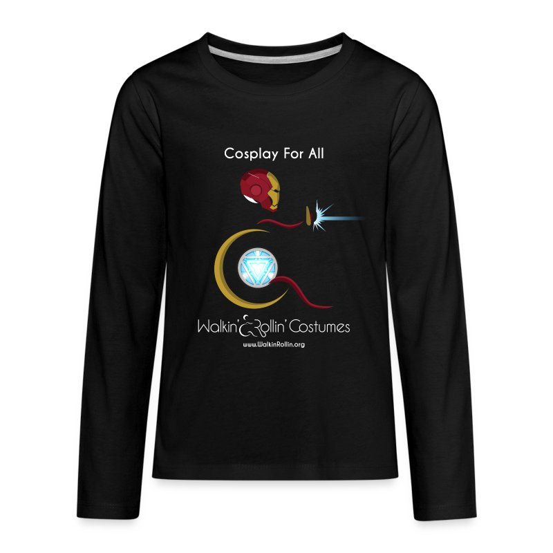 Cosplay For All: IronMan - Kids' Premium Long Sleeve T-Shirt