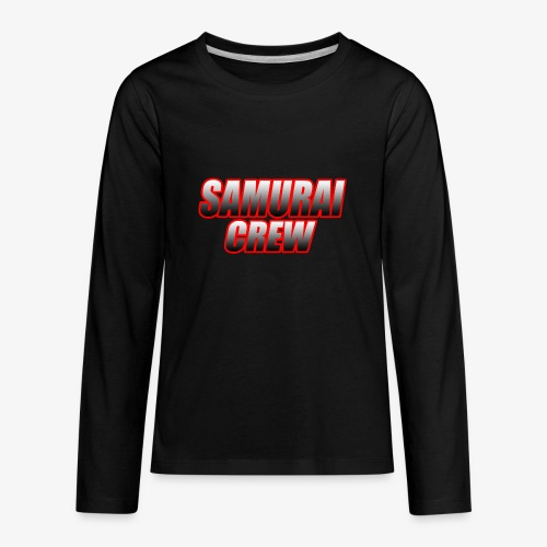 SamuraiCrew logo - Kids' Premium Long Sleeve T-Shirt