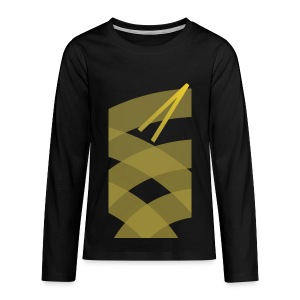Rising Break The Cycle Gold fury - Kids' Premium Long Sleeve T-Shirt