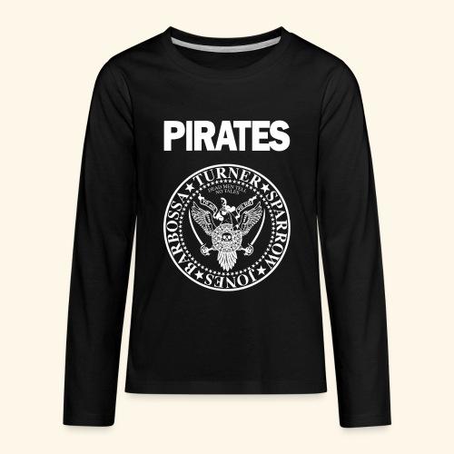 Punk Rock Pirates [heroes] - Kids' Premium Long Sleeve T-Shirt