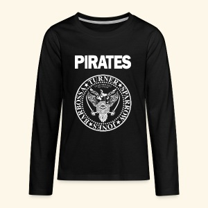 Punk Rock Pirates [heroes] - Kids' Premium Long Sleeve T-Shirt