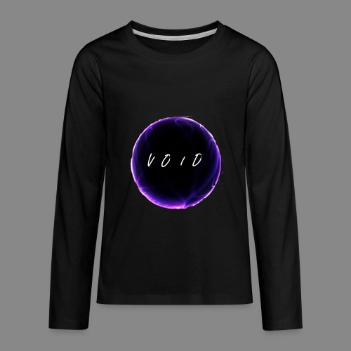 VOID CIRCLE LOGO - Kids' Premium Long Sleeve T-Shirt