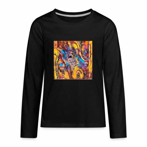 Welcome Abstract - Kids' Premium Long Sleeve T-Shirt