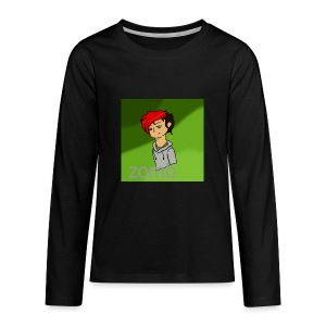 zomb is nere - Kids' Premium Long Sleeve T-Shirt