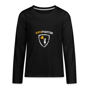 DIPG Fighter Classic - Kids' Premium Long Sleeve T-Shirt