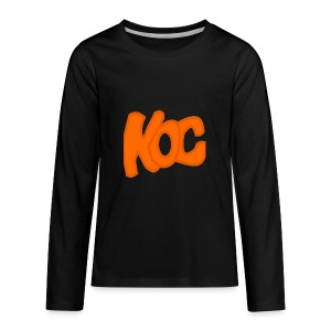 KingOfCookies Collection - Kids' Premium Long Sleeve T-Shirt