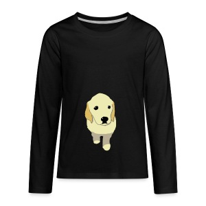 Golden Retriever puppy - Kids' Premium Long Sleeve T-Shirt