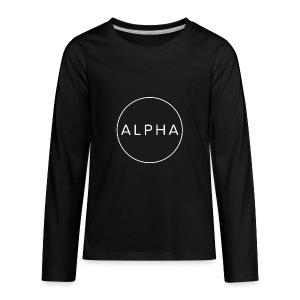 alpha team fitness - Kids' Premium Long Sleeve T-Shirt