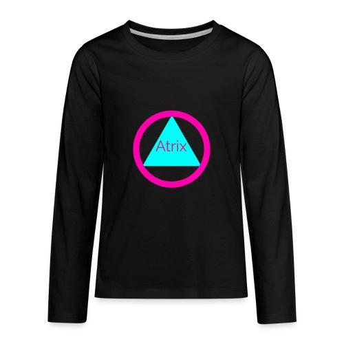 Atrix circle - Kids' Premium Long Sleeve T-Shirt