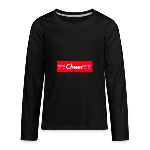 Cheer Merchandise - Kids' Premium Long Sleeve T-Shirt